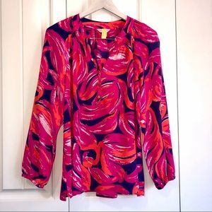 Lilly Pulitzer Plume Bloom Elsa Size Large